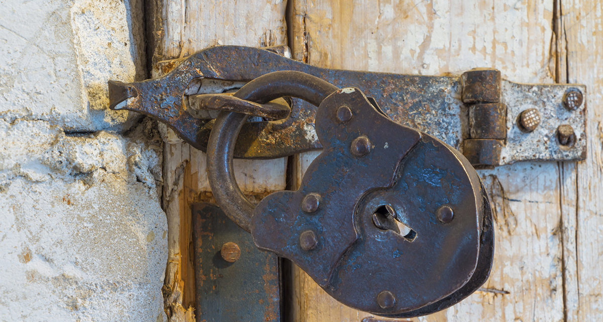 DO NOT BE LOCKED IN THE PAST…